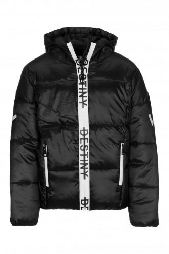 Czarna kurtka dla dziewczyny