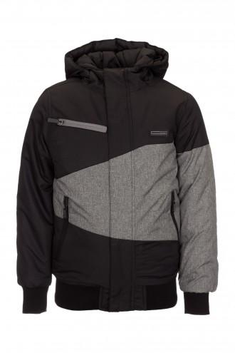 Czarna kurtka dla chłopaka