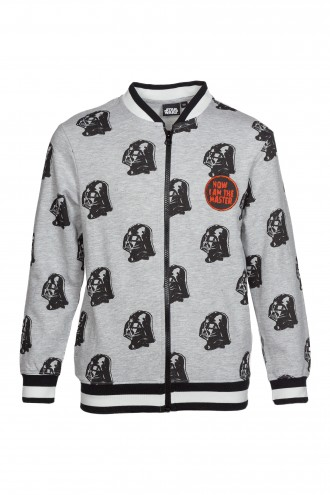 Bluza chłopięca szara Master STAR WARS
