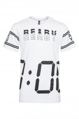 T-shirt chłopięcy Ready? Go!
