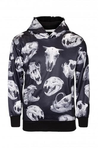 Bluza chłopięca z motywem czaszek Skull