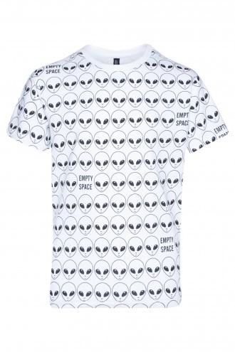 T-shirt z motywem UFO