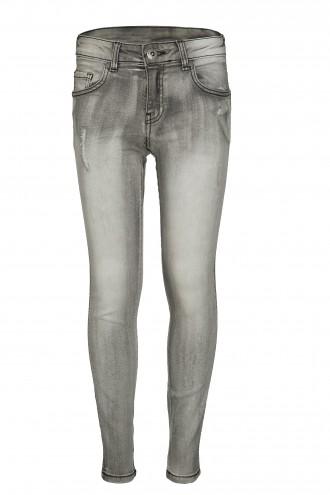 Spodnie dżinsowe z przetarciami FIT SLIM