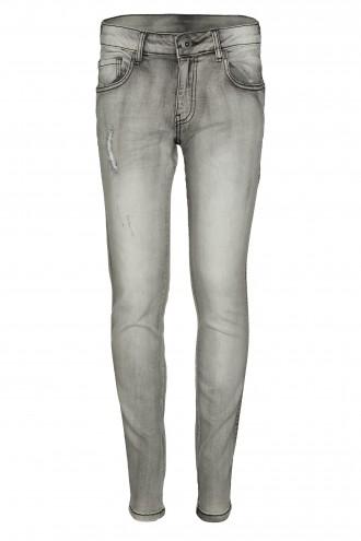 Spodnie dżinsowe z przetarciami FIT SUPER LOOSE