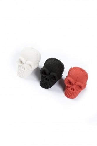 Gumka do zmazywania w kształcie trupiej czaszki