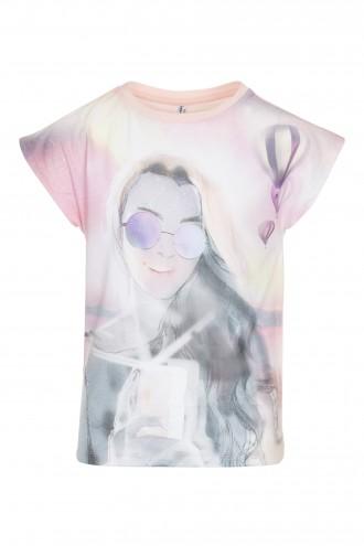 T-shirt z nadrukiem Sunset