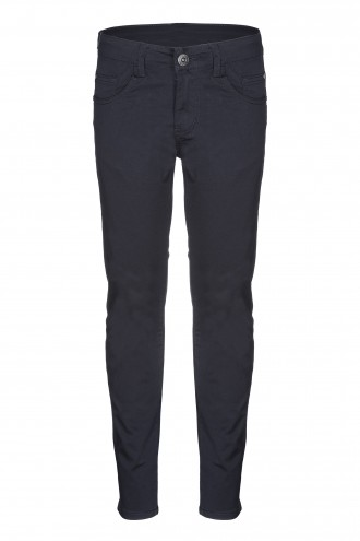 Czarne spodnie tkaninowe Rush LOOSE
