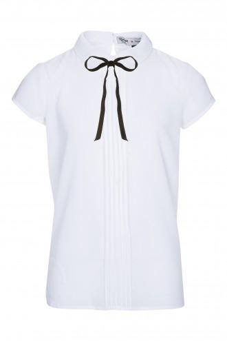 Koszula z krótkim rękawem i tasiemką