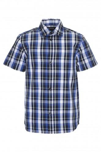 Koszula w kratę z krótkim rękawem Daylight