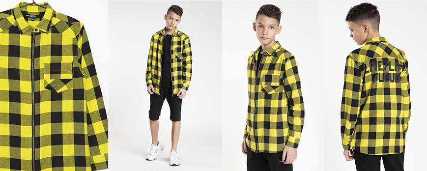 Koszula w kratę dla chłopca - Reporter Young