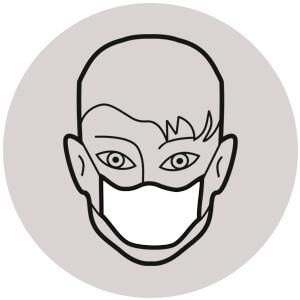 konieczność zakrywania ust i nosa